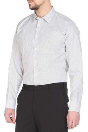 Сорочка Yves Saint Laurent. Цвет: белый
