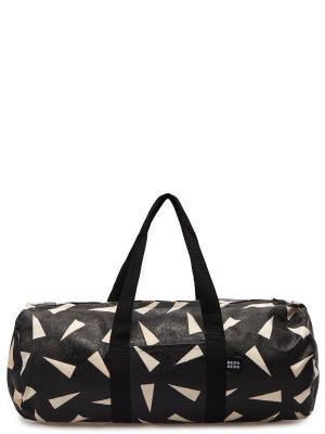 Спортивная сумка THE POUNDSHOP. Цвет: черный