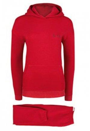 Спортивный костюм SEVEN LAB. Цвет: красный