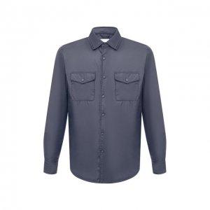Утепленная куртка Aspesi. Цвет: серый