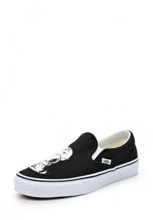Слипоны Vans UA CLASSIC SLIP-ON. Цвет: черный