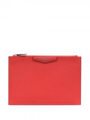 Клатч Antigona Givenchy. Цвет: красный