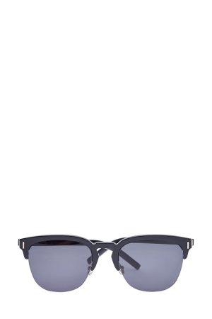 Солнцезащитные очки квадратной формы DiorFraction DIOR (sunglasses) men. Цвет: черный