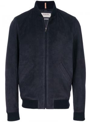 Куртка-бомбер на молнии A.P.C.. Цвет: синий