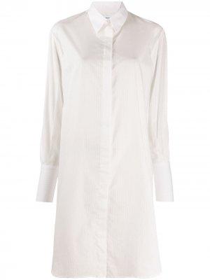 Платье-рубашка Alana в полоску Filippa K. Цвет: белый