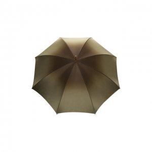 Зонт-трость Pasotti Ombrelli. Цвет: зелёный