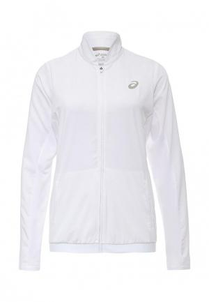 Ветровка ASICS CLUB JACKET. Цвет: белый