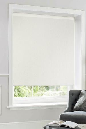 Рулонные шторы 83х170 PIKAMO. Цвет: белый