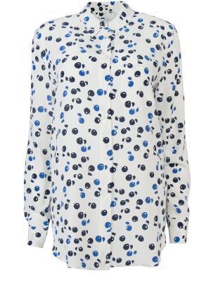 Шелковая блуза с принтом EQUIPMENT