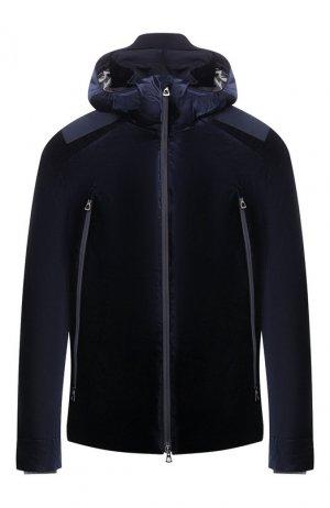 Лыжная куртка Giorgio Armani. Цвет: синий