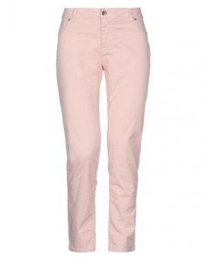 Повседневные брюки FRACOMINA. Цвет: светло-розовый