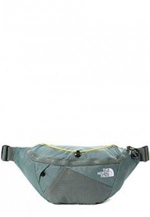 Спортивная сумка THE NORTH FACE. Цвет: зеленый