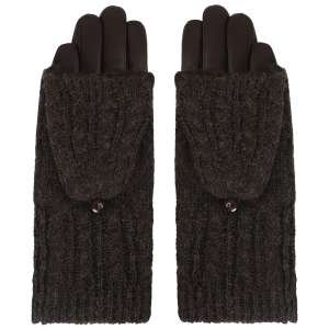 Перчатки Ekonika EN33954-brown-21Z. Цвет: коричневый