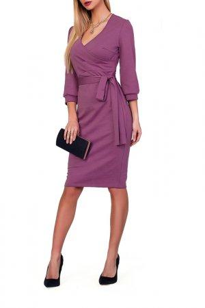 Платье FABIEN DE FERANTE. Цвет: лиловый