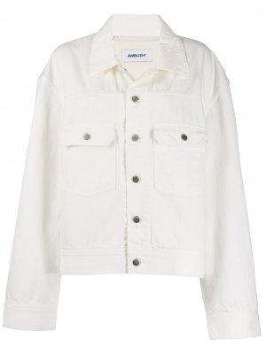 Джинсовая куртка с логотипом Ambush