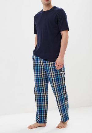 Пижама Marks & Spencer MA178EMBJKU3. Цвет: синий