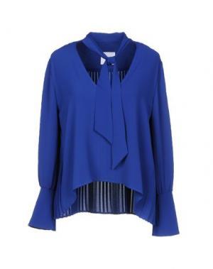 Блузка ANNARITA N TWENTY 4H. Цвет: темно-синий