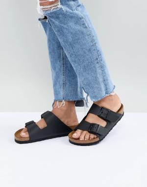 Черные сандалии arizona-Черный Birkenstock