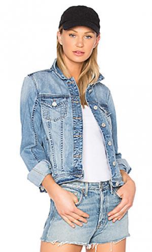Джинсовая куртка BLANKNYC. Цвет: синий