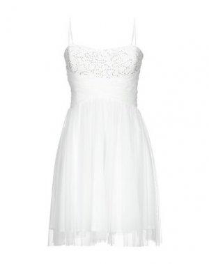 Короткое платье SOOZ by ISABEL C.. Цвет: белый
