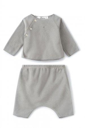 Серый комплект Bonpoint. Цвет: серый