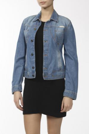 Джинсовая куртка Dolce&Gabbana. Цвет: голубой