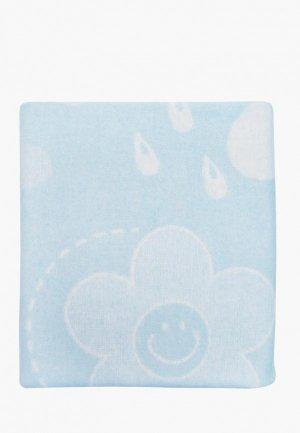 Одеяло детское Arloni 100х140. Цвет: голубой