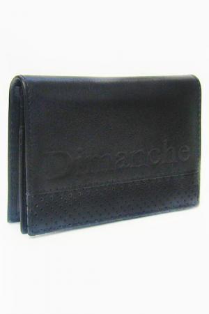 Футляр для дисконтных карт Dimanche. Цвет: черный