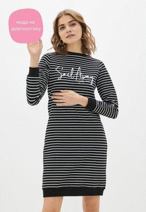 Платье Galvanni. Цвет: черный