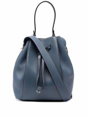 Большая сумка-тоут Furla. Цвет: черный