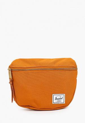 Сумка поясная Herschel Supply Co Fifteen. Цвет: оранжевый