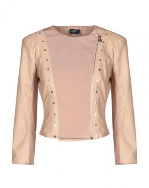 Куртка ELISABETTA FRANCHI. Цвет: розовый