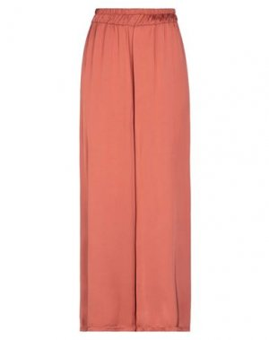 Повседневные брюки B.YU. Цвет: ржаво-коричневый