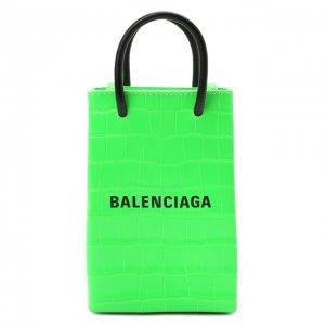 Чехол для iPhone Balenciaga. Цвет: зелёный