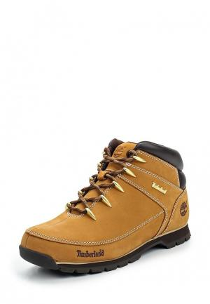 Ботинки трекинговые Timberland EURO SPRINT. Цвет: коричневый