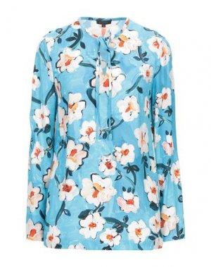 Блузка ESCADA. Цвет: лазурный