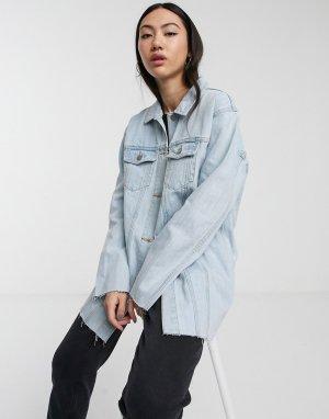 Джинсовая куртка -Синий Dr Denim