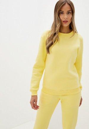 Свитшот Imago. Цвет: желтый