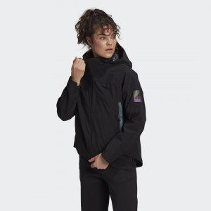 Куртка-дождевик MYSHELTER Sportswear adidas. Цвет: черный