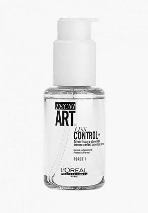 Сыворотка для волос LOreal Professionnel L'Oreal Tecni.Art Liss Control + контроля гладкости, 150 мл. Цвет: прозрачный
