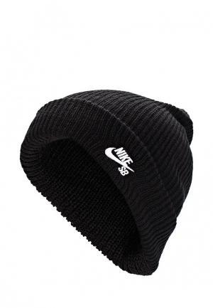Шапка Nike SB FISHERMAN CAP. Цвет: черный
