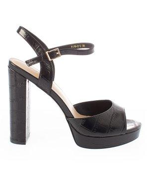 Босоножки Y119-2 37 черный Just Couture. Цвет: черный