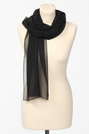 Палантин Groupe JS. Цвет: черный