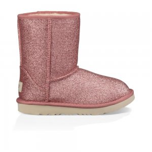 Classic Short Ii Glitter Toddler UGG. Цвет: розовый