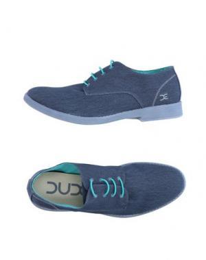Обувь на шнурках DUDE. Цвет: грифельно-синий