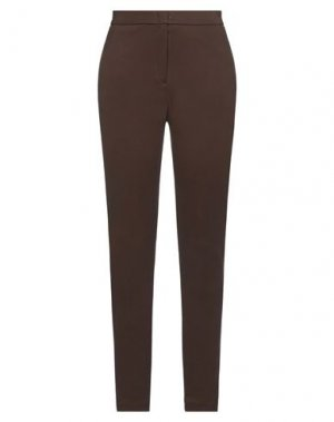 Повседневные брюки KAOS. Цвет: темно-коричневый