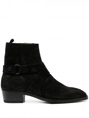 Ботинки челси с ремешком Represent. Цвет: черный
