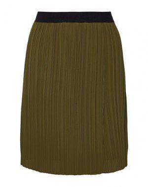Юбка до колена BY MALENE BIRGER. Цвет: зеленый-милитари