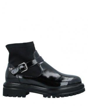 Полусапоги и высокие ботинки TUA BY BRACCIALINI. Цвет: черный