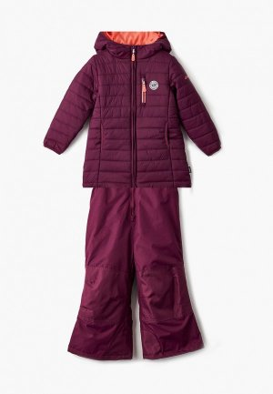 Куртка утепленная Gusti. Цвет: фиолетовый